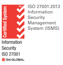 Certified ISO 27001-2013